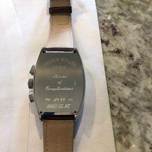 Franck Muller Accessories - Men's Franck Muller Geneve Wrist Watch